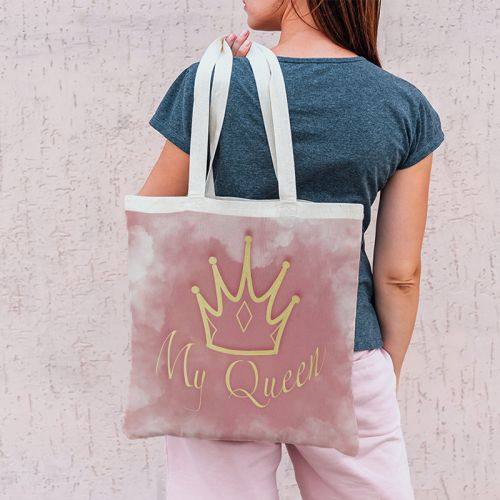 Coupon 45x45 cm motif my queen