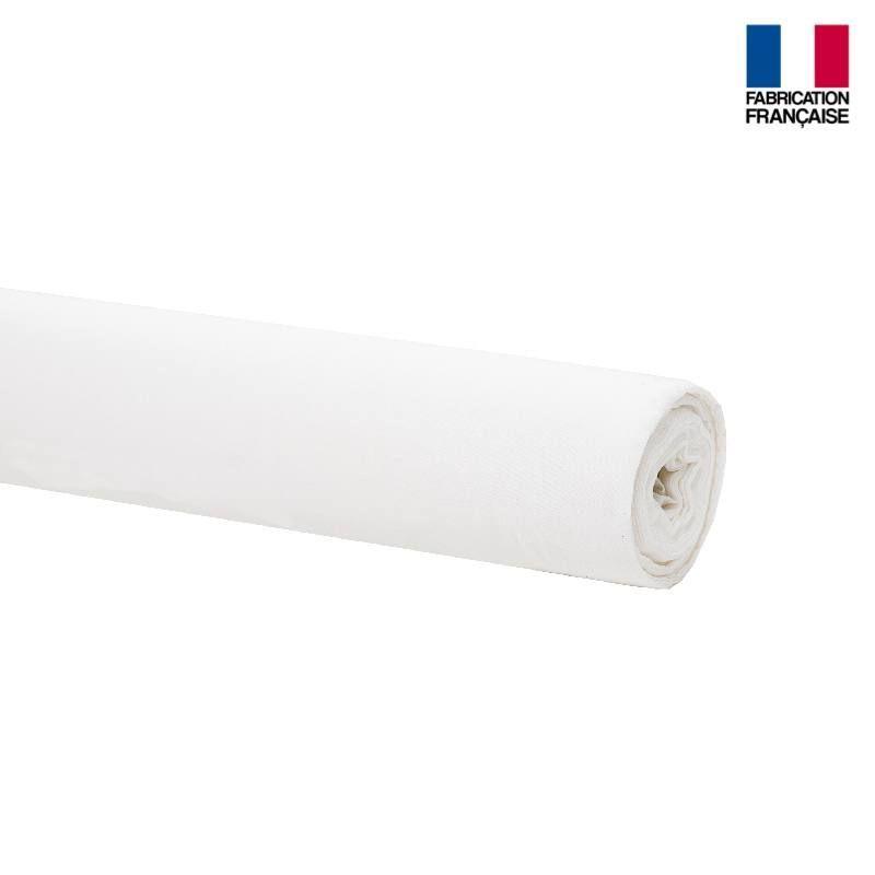 Rouleau 36m voilage blanc non feu m1 plombé grande largeur