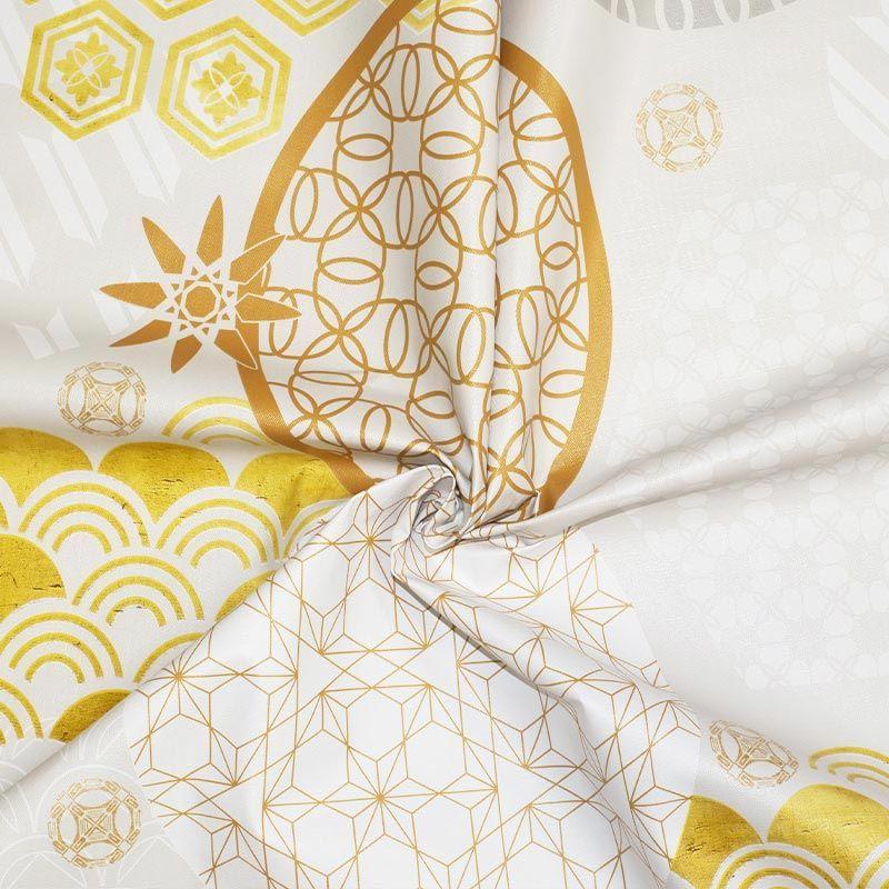 Toile cirée motif art déco géométrique