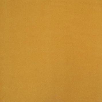 Velours d'ameublement uni jaune moutarde