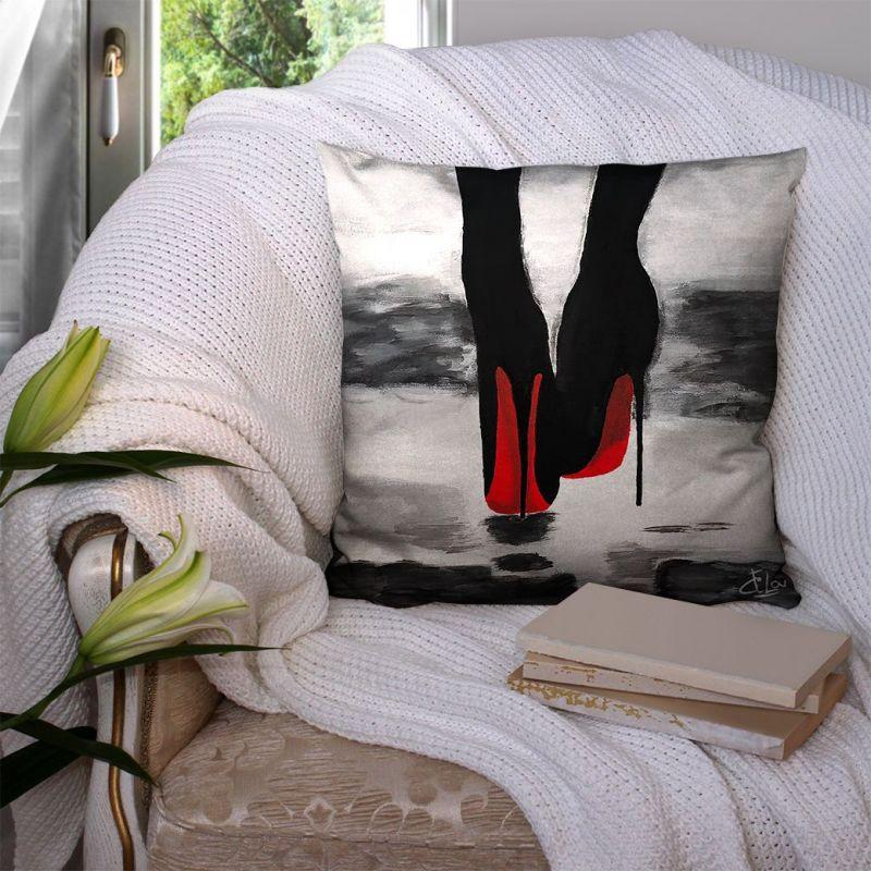 Coupon 45x45 cm motif talons aiguilles - Création Lilou L