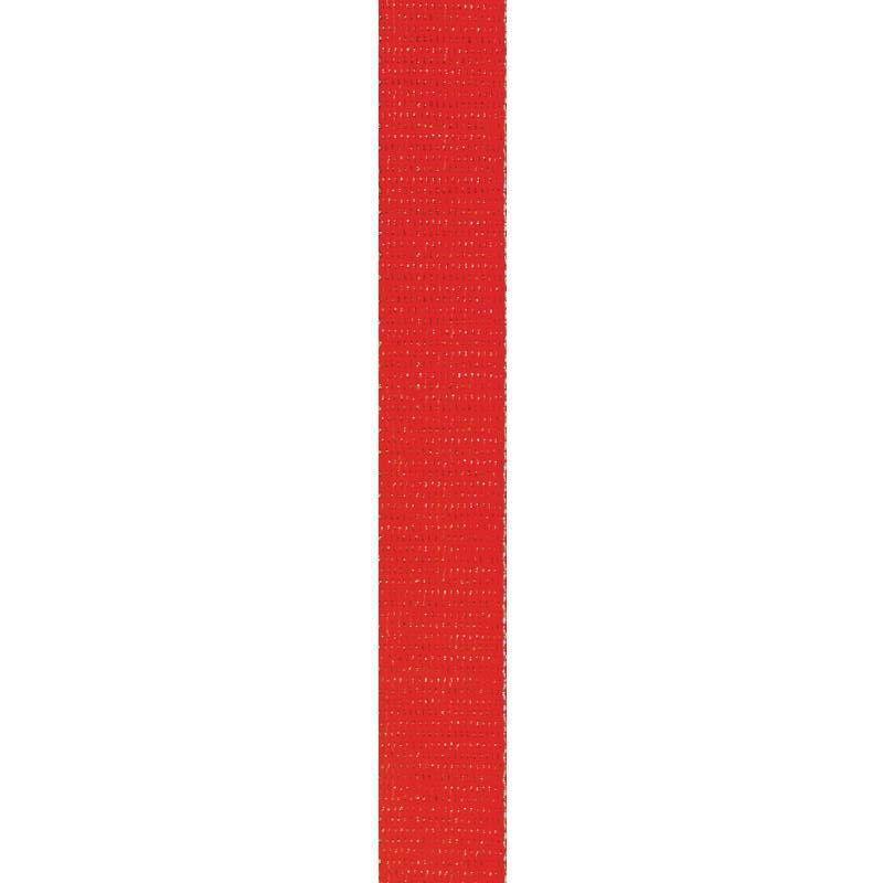 Sangle paillette rouge 30 mm