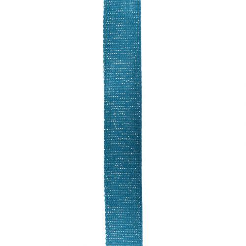 Sangle paillette bleu canard 30 mm