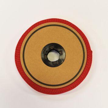 Rouleau 10m sangle coton 30mm rouge