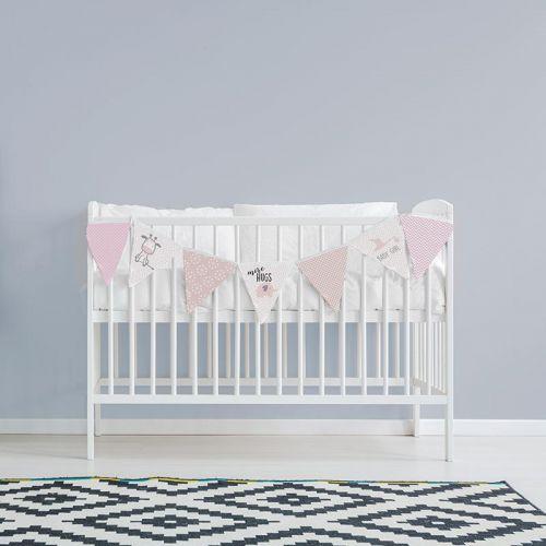Coupon pour fanions motif baby rose