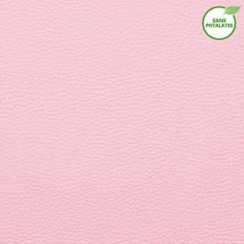 Simili cuir Dolaro rose pastel