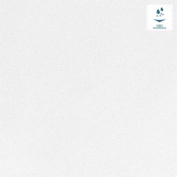 Tissu imperméable blanc uni