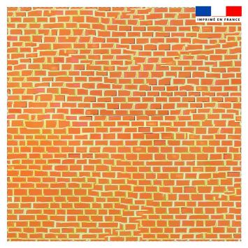 Coupon 45x45 cm motif made in france verso - Création Khosravi