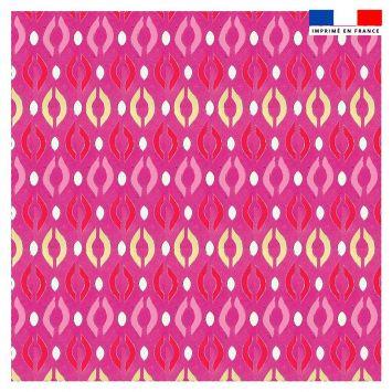 Coupon 45x45 cm motif windsor verso - Création Khosravi