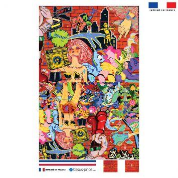 Kit pochette motif vanityfair - Création Khosravi