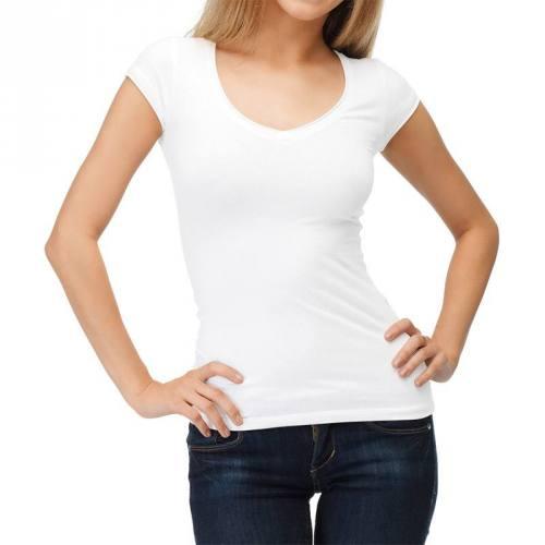 coupon - Coupon 30cm - Jersey en coton bio blanc