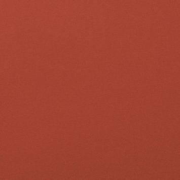 Coton uni couleur rouge vermillon