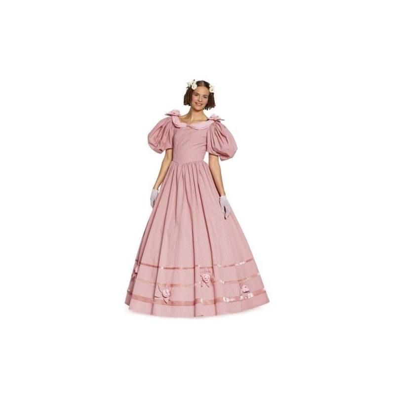 Patron N°7466 Burda historique : Robe style Louis Taille : 36-54