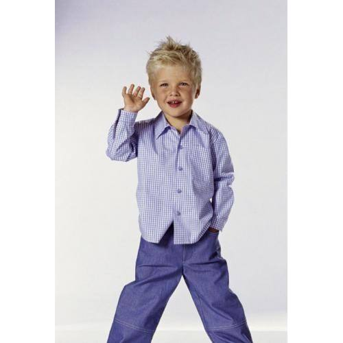 Patron N°9792 Burda kids : Chemise Taille : 2-6 ans