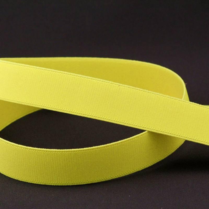 0a894f1ae5d Elastique ceinture jaune fluo
