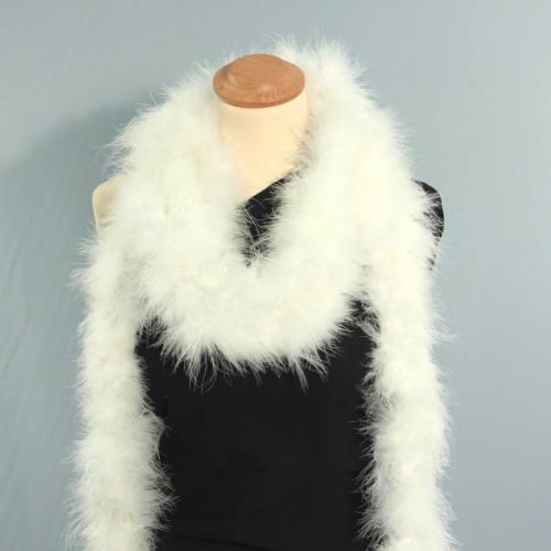 Marabou blanc