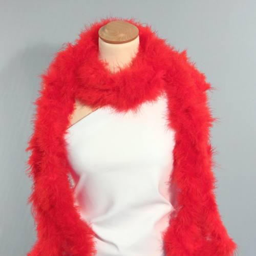 Marabou rouge