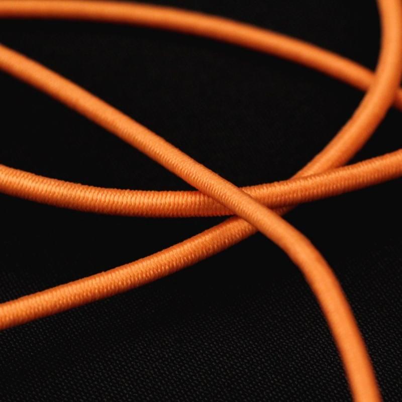 Cordon élastique 3 mm - saumon