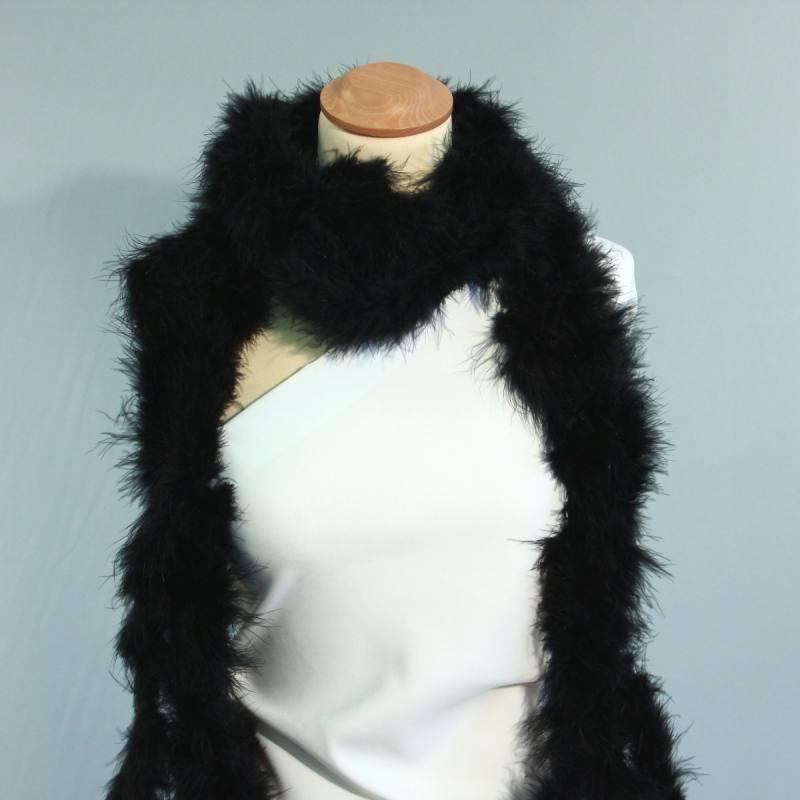 Marabou noir de 10 mètres