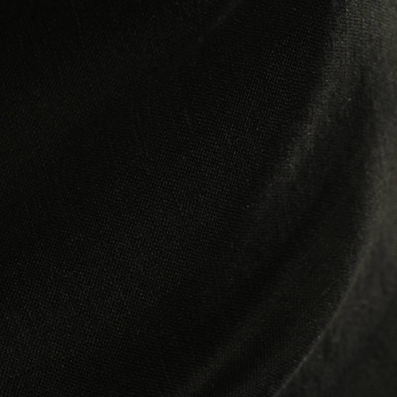Lin uni noir