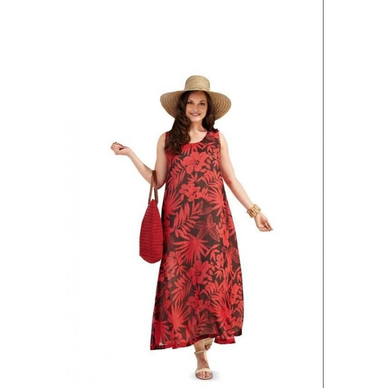 Patron Burda N°7100 style : Robe Taille : 44 à 60