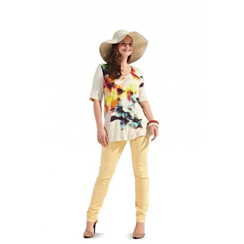 Patron Burda N°7098 style : T-shirt Taille : 44-60