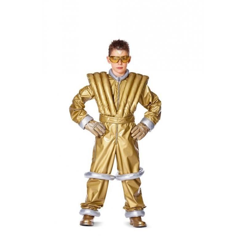 Patron Burda 2379 : Carnaval Astronaute Taille : 122 à 158 cm