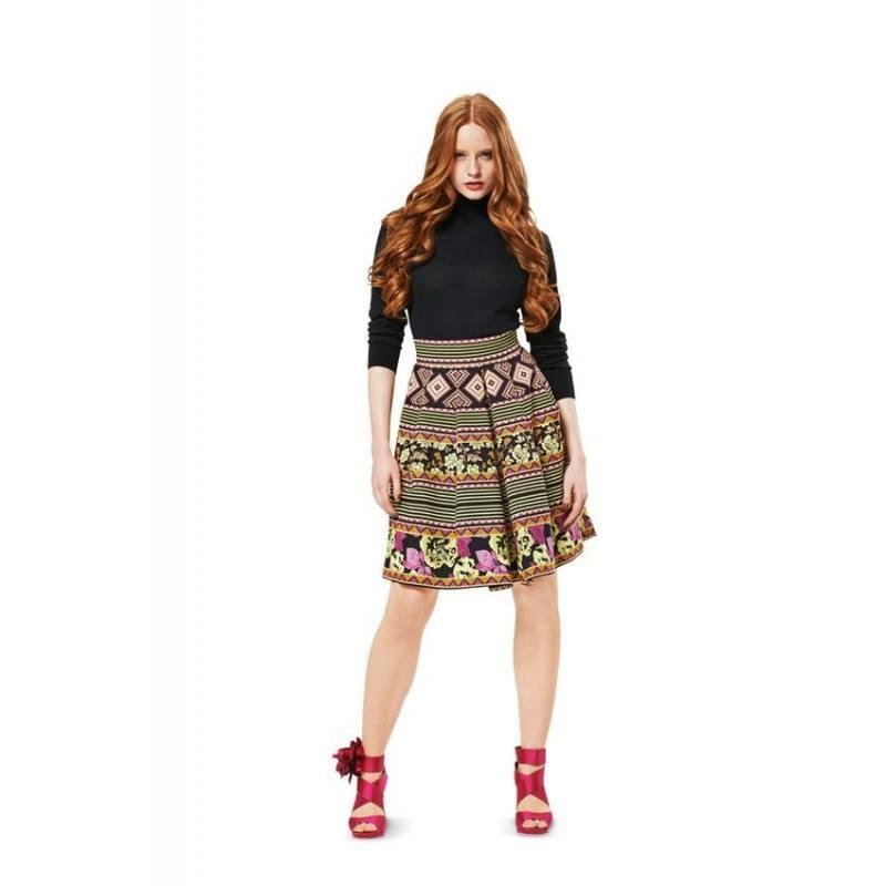 Patron Burda N°7016 Style : Jupe Taille : 32 à 42
