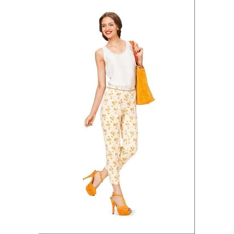 Patron Burda N°7062 style : Pantalon dames Taille : 36 à 46