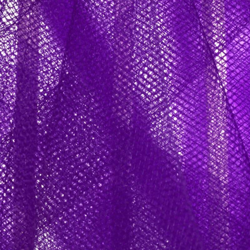 Tulle violet pour robe de mariée grande largeur