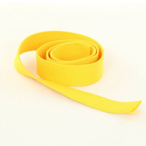 Sangle Coton 30mm jaune