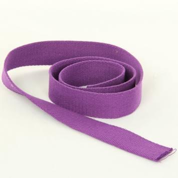 Sangle Coton 30mm violette