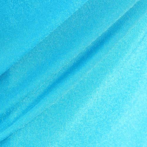 Lycra bleu turquoise