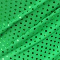 Lycra vert pailleté