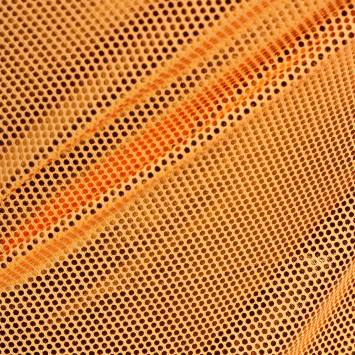 Lycra orange clair pailleté