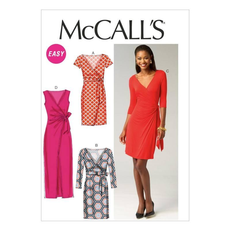 Patron McCall's M6884 : Robes T42 à 50