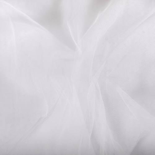 Tulle rigide 300 cm Blanc