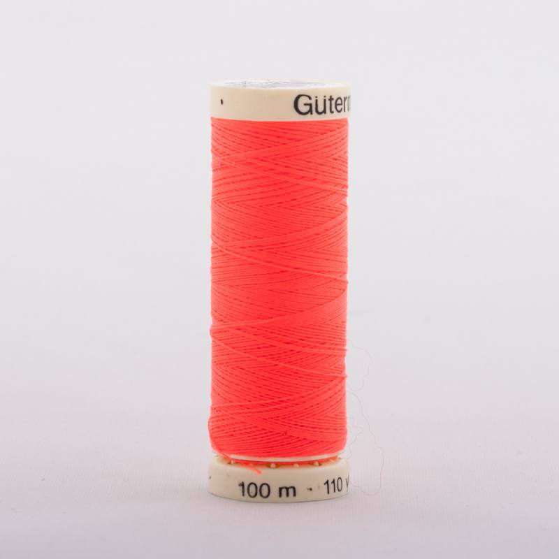 Fil Polyester 3722 orange fluo