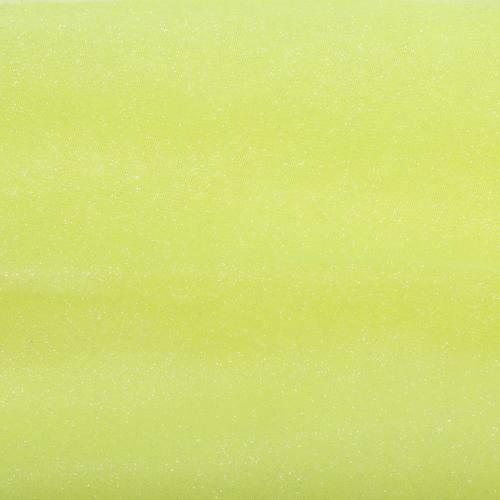 Tulle jaune fluo paillettes 270cm