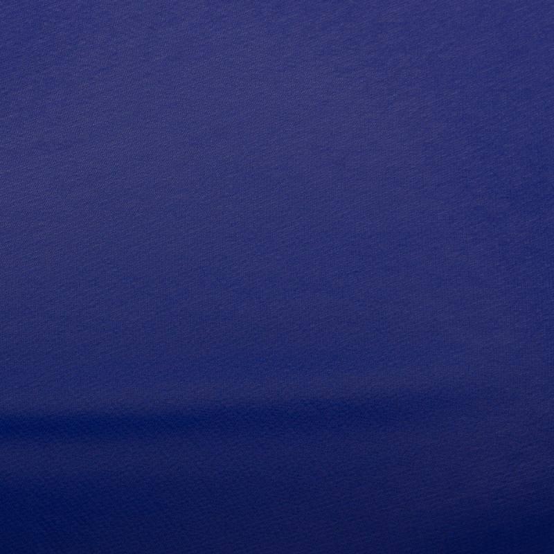 Mousseline unie Bleu roi N°2