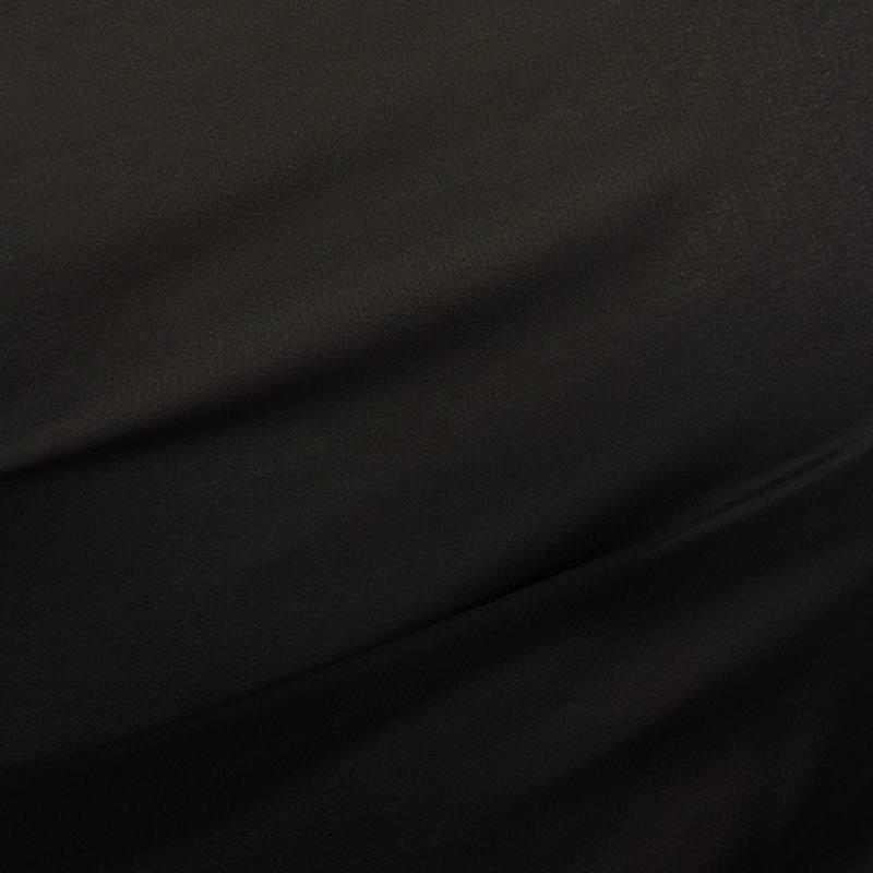 Mousseline unie Noire N°19