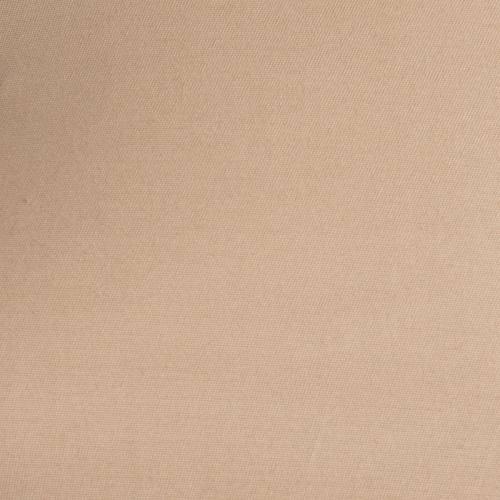 Gabardine coton extensible uni beige