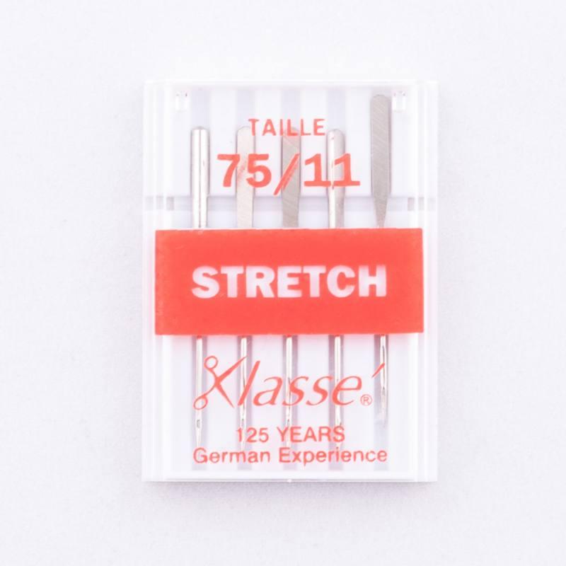 Aiguilles machines stretch 75/11