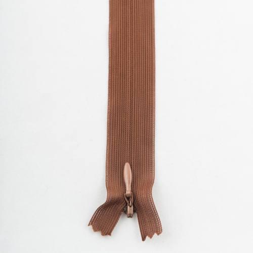 Fermeture 40 cm Col 160 à glissières invisible