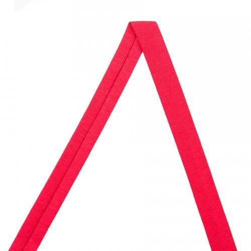 Biais jersey rouge