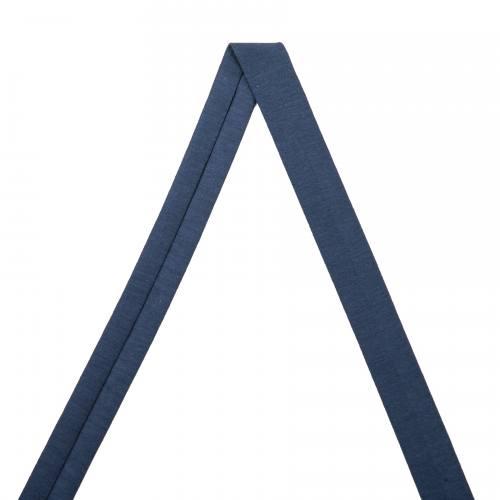 Biais jersey bleu marine