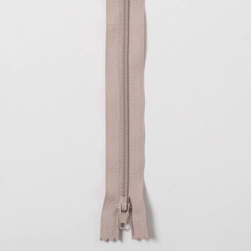 Fermeture 40cm Polyester non séparable beige 156
