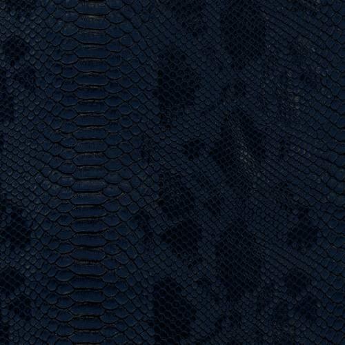 Simili cuir Dragon bleu marine