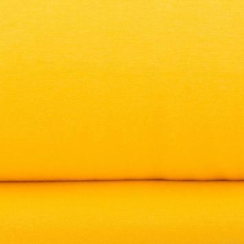 Tissu tubulaire bord-côte jaune