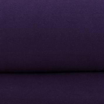 Tissu tubulaire bord-côte violet
